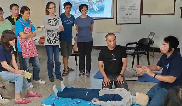 【課程花絮】9月28號 CPR+AED 急救訓練花絮