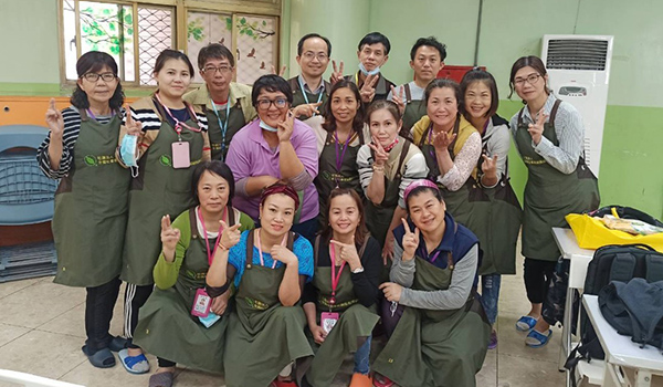 【課程花絮】2021年3月照顧服務員訓練自費數位班實習花絮